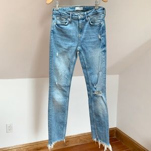 ZARA Premium Denim Collection Jeans